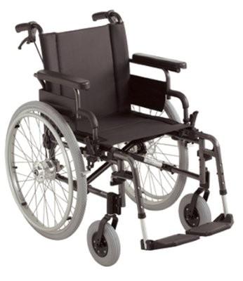 Rollstuhl, mit Trommelbremse